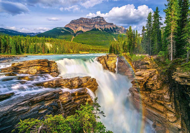Пазлы Водопад, Канада 500 элементов, фото 2