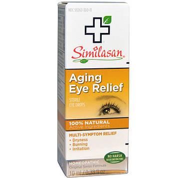 Similasan, Капли для снятия усталости глаз,  0,33 жидких унций / 10 мл