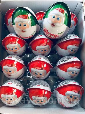 Яйцо-игрушка Merry Christmas c печеньем в глазури, 15 g X 24 шт, фото 2