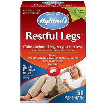 Hylands, Restful Legs, 50 быстрорастворимых таблеток