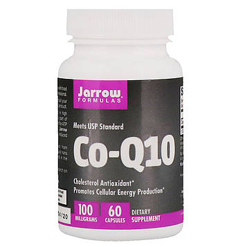 Jarrow Formulas, Co-Q10, 100 мг, 60 капсул