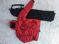 Мужской лыжный костюм Salomon красный