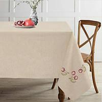 Скатерть на стол лен 150x175