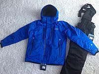 Мужской лыжный костюм Salomon синий