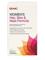 Витамины GNC Hair, Skin and Nails Formula,  60  tabl