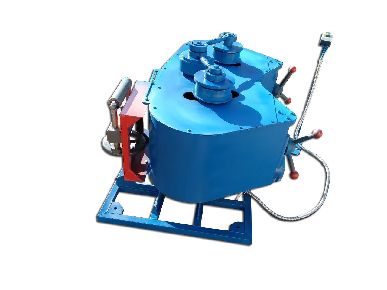 Трубогиб для профильной трубы горизонтальный PRM 60G | Профилегиб электрический