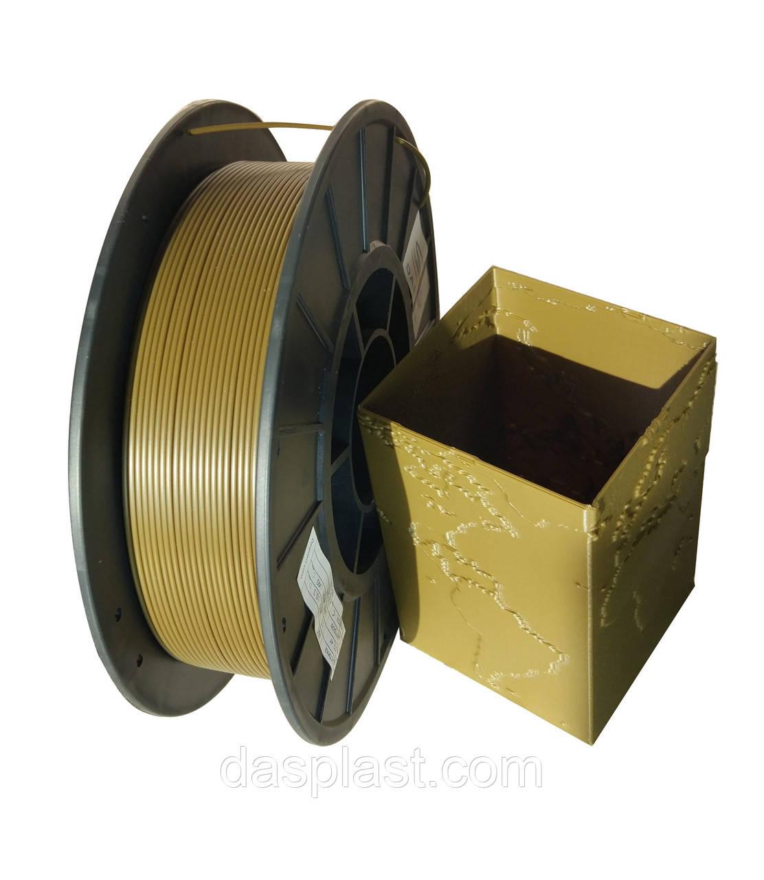 АБС нить хаки,1.75 мм пластик для 3d печати , 0,5 кг
