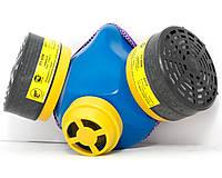 Респиратор Тополь пластиковый носик (комплект с фильтрами)