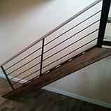 Перила для лестницы в стиле Лофт, фото 2