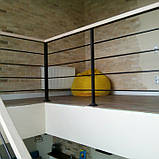Перила для лестницы в стиле Лофт, фото 5