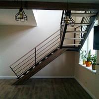 Перила для лестницы в стиле Лофт, фото 1