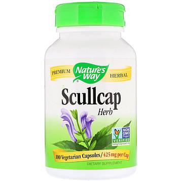 Natures Way, Шлемник, 425 мг, 100 капсул в растительной оболочке