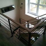 Перила для лестницы в стиле Лофт, фото 4