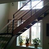 Перила для лестницы в стиле Лофт, фото 3