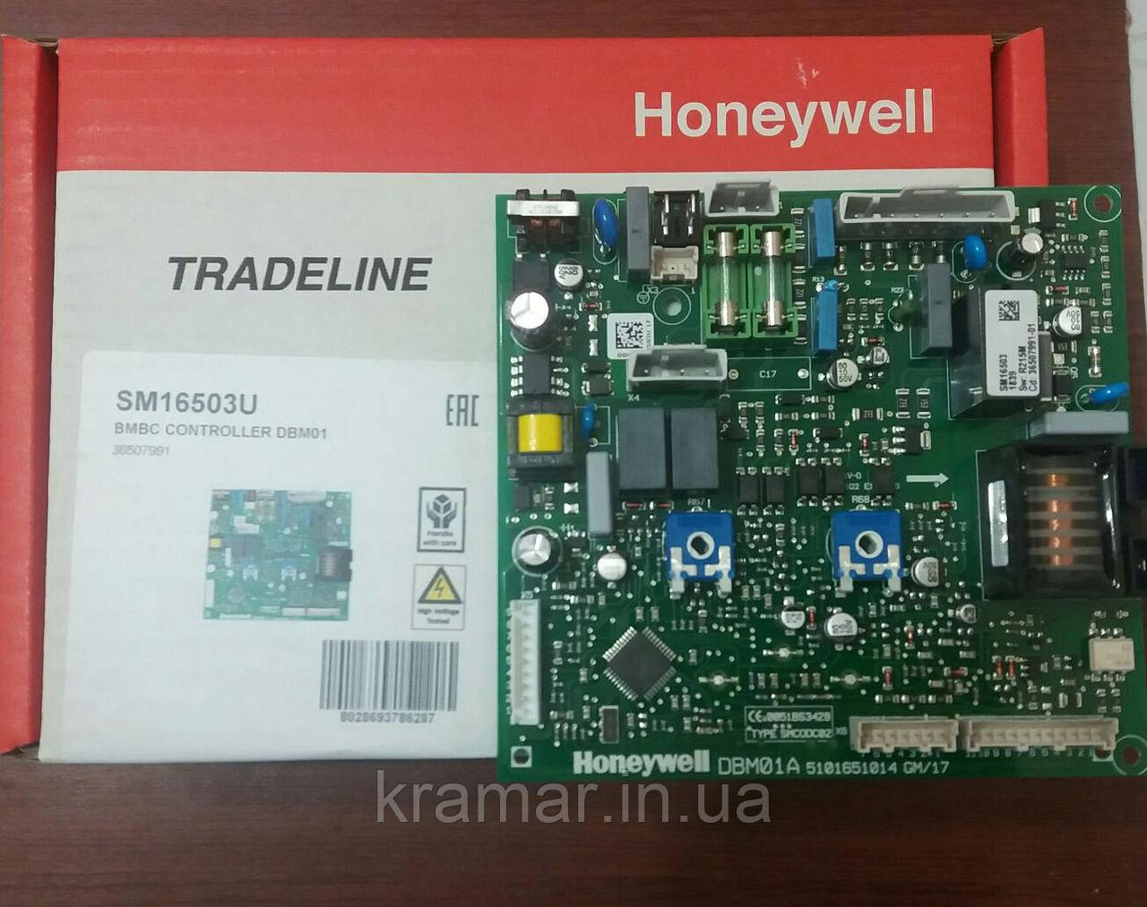 Плата управления Ferroli DomiProject Honeywell  (с ручками)