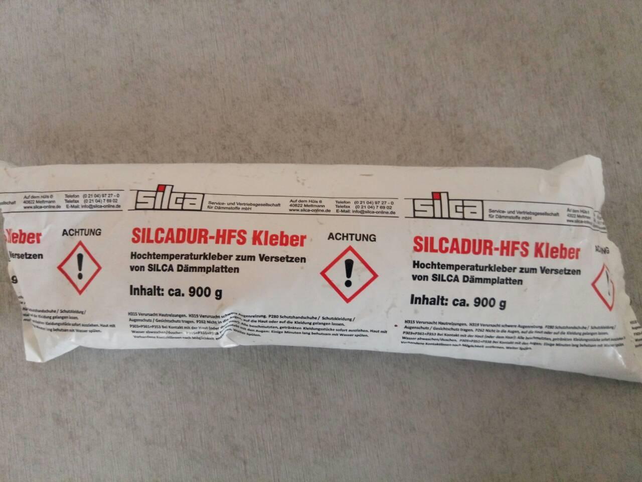 Клей для силикатно кальциевых плит Silcadur-HFS, 0.9 кг