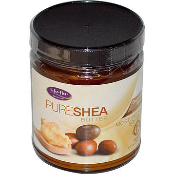 Life Flo Health, Чистое масло ши для ухода за кожей, 266 мл