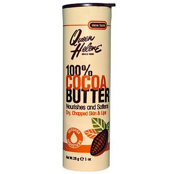 Queen Helene, 100%-ное какао-масло, палочка, 1 унция (28 г)