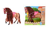 Игровая фигурка ToiToys лошадь Коричневая, КОД: 121201