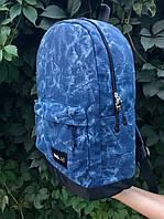 Женский рюкзак Baglab синий котон F, фото 2