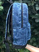 Женский рюкзак Baglab синий котон F, фото 3