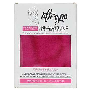 AfterSpa, Волшебная многоразовая салфетка для снятия макияжа, 1 салфетка