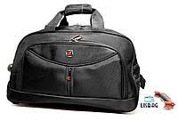 4cf7cf2cb97a Средняя сумка на колесах X (65 л) Черная (61 32 35) Чемодан дорожная сумка  на колесах