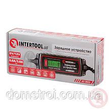Зарядное устройство 6/12В, 0.8/3.8А, 230В, зимний режим зарядки, дисплей, фото 3