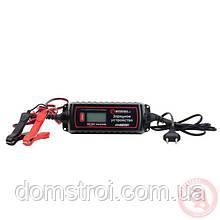 Зарядное устройство 6/12В, 0.8/3.8А, 230В, зимний режим зарядки, дисплей
