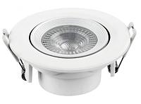 Панель LED встраиваемая круглая Luxel DL-5N 5W 4000K IP20