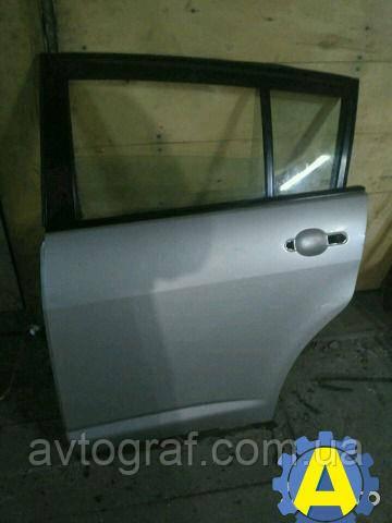 Дверь задняя левая на Ниссан Тиида ( Nissan Tiida ) Арабка 2005-2012 хетчбек