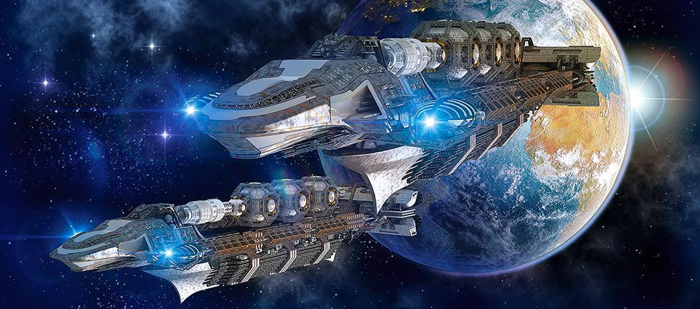Пазлы Космическое пространство 600 элементов