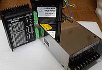 ЧПУ комплект: шаговый двигатель+драйвер+блок питания., фото 1