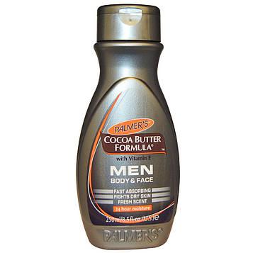 Palmers, Формула с какао маслом, витамином Е, Для лица и тела, Для мужчин, 8,5 ж. унц.(250 мл)