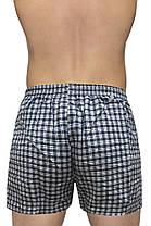 """Мужские шорты(семейные c ширинка на пуговице) клетка  Марка """"DOOMILAI""""  Арт.D-5801, фото 2"""