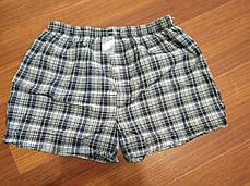 """Мужские шорты(семейные c ширинка на пуговице) клетка  Марка """"DOOMILAI""""  Арт.D-5801, фото 3"""