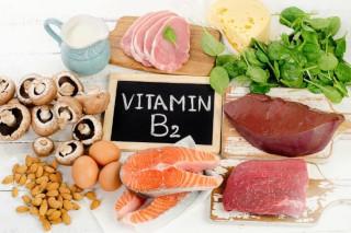 Витамин B2 в продуктах