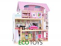 Кукольный домик Ecotoys резиденция Bajkowa 4110