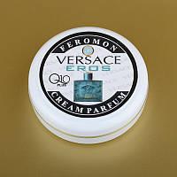 Парфюмированный крем для рук и лица с феромонами Eros Versace + Q10 50 мл