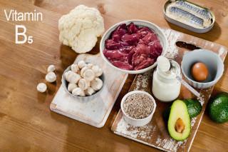 Витамин B5 в продуктах