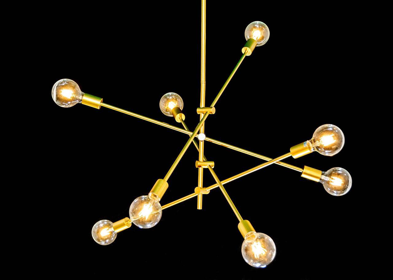 Люстра LOFT в золотом цвете MD6139/8 GD