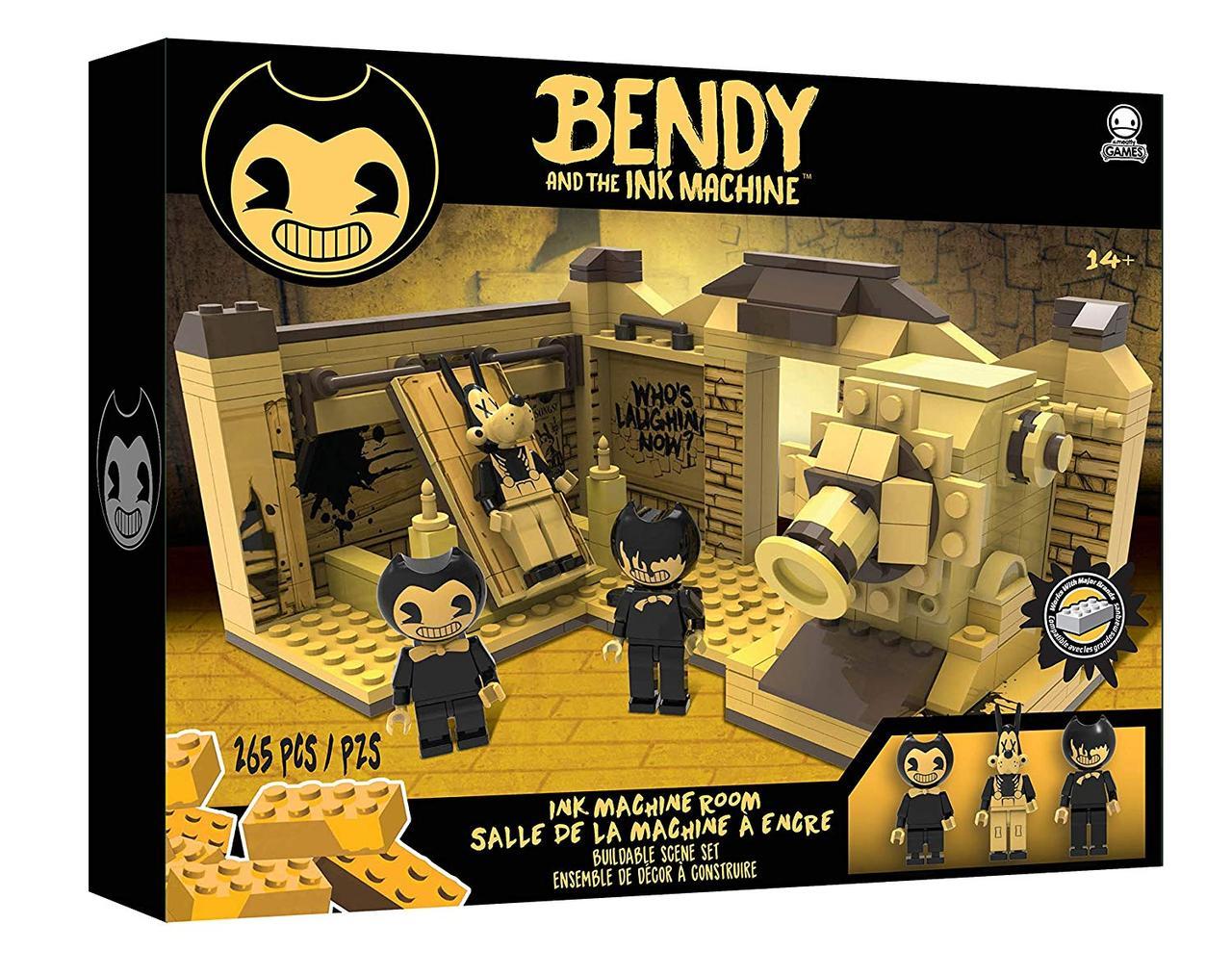 Конструктор Бенди и чернильная машина Bendy and the Ink Machine - Room Scene