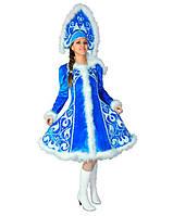Новогодний Карнавальный костюм Снегурочка женский / Pr - 197