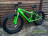 Электровелосипед Фэт-байк - Angry Fat2X зеленый