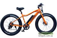 Электровелосипед Фэт-байк - Angry Fat2X оранжевый