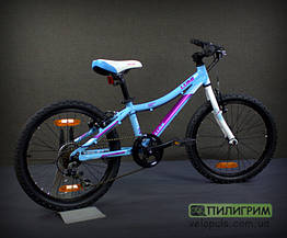"Велосипед 20"" Kellys Lumi 30 light blue"