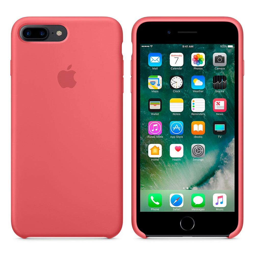 Чехол для Apple Silicone Case (36) iPhone 7/8 Plus camelia