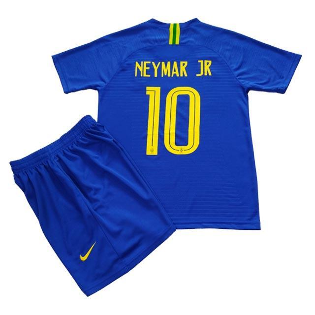 Детская футбольная форма ФК Бразилии Неймар 2018-2019г