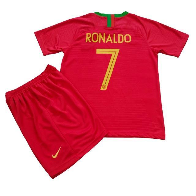 Детская футбольная форма ФК Португалии Роналдо 2018-2019г
