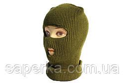 Шапка-маска, балаклава зимняя REIS (двойная вязка), фото 3